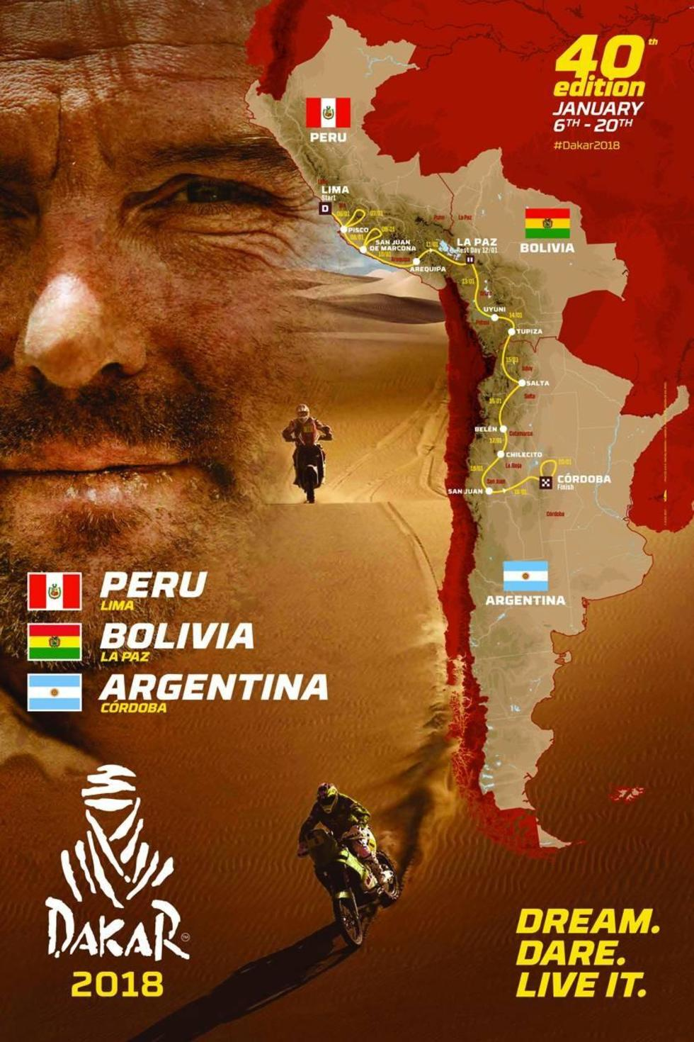 Tupiza y Uyuni son ruta del rali Dakar en la gestión 2018