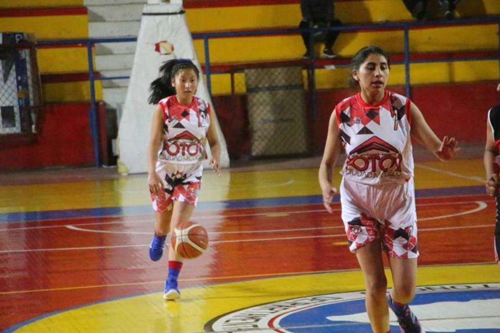 La selección potosina venció 57-35 a Villa Montes.