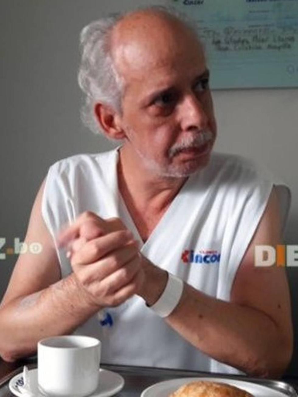 Chávez espera autorización para ir a Brasil