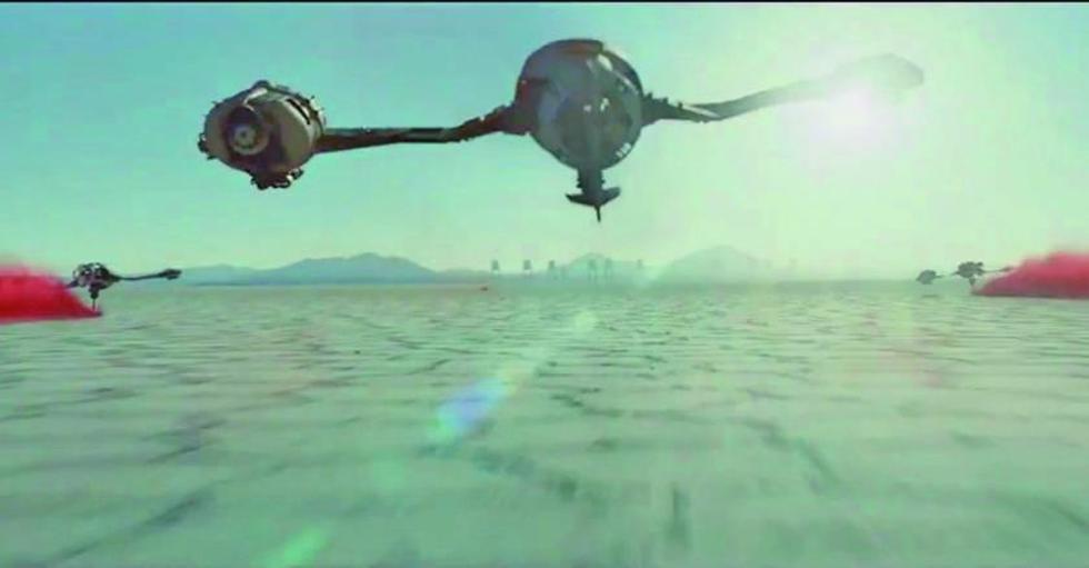 Estrenan zaga de Star Wars  filmada en el Salar de Uyuni