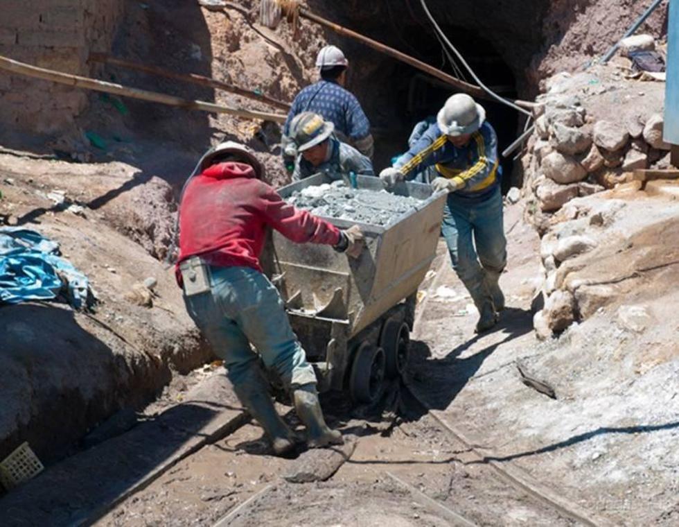 Los productores primarios pagan la regalía minera.
