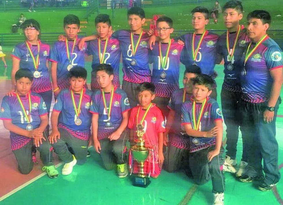 Potosí sube al podio en el Campeonato Nacional de Voleibol