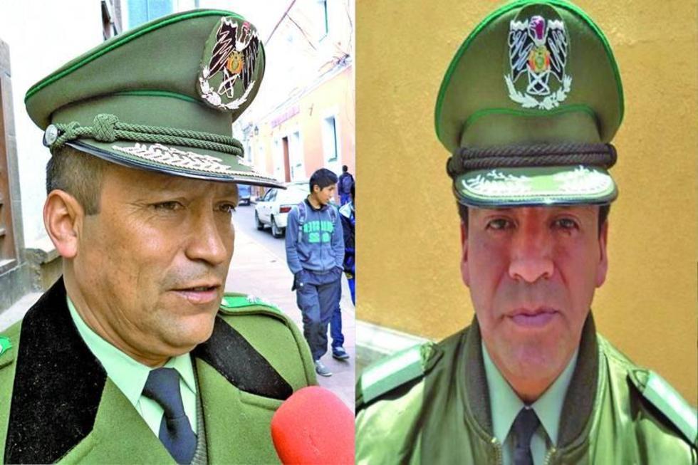 Potosinos suben a generales en la Policía Nacional de Bolivia