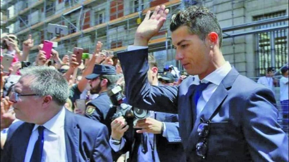 Unidad Fiscal exige cárcel para Cristiano Ronaldo