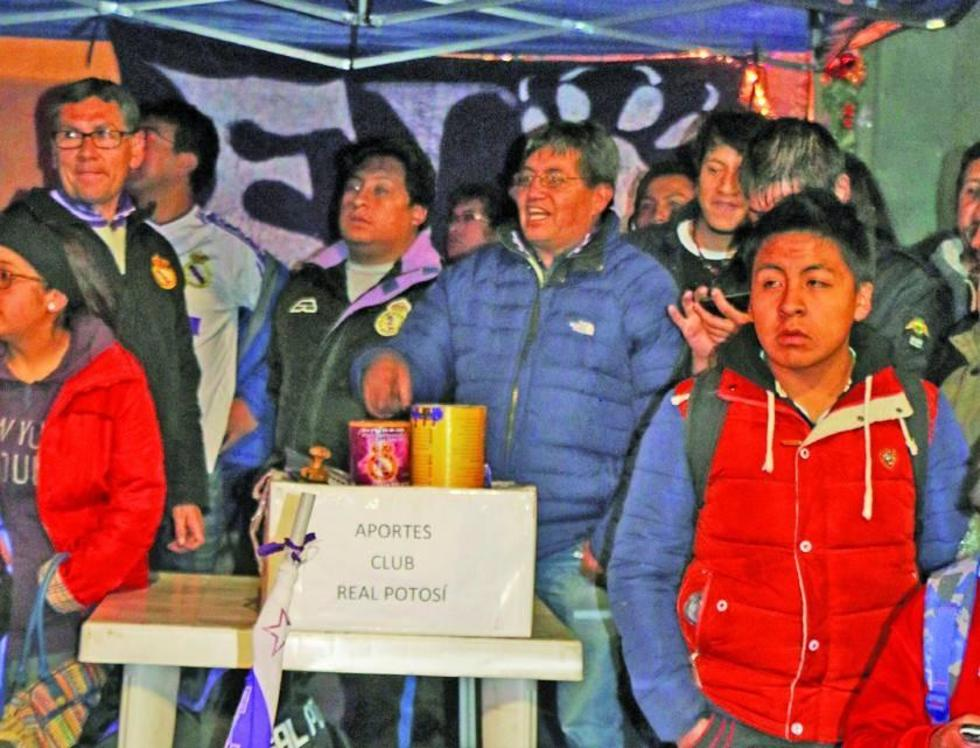 Real Potosí alarga campaña para recaudar recursos económicos