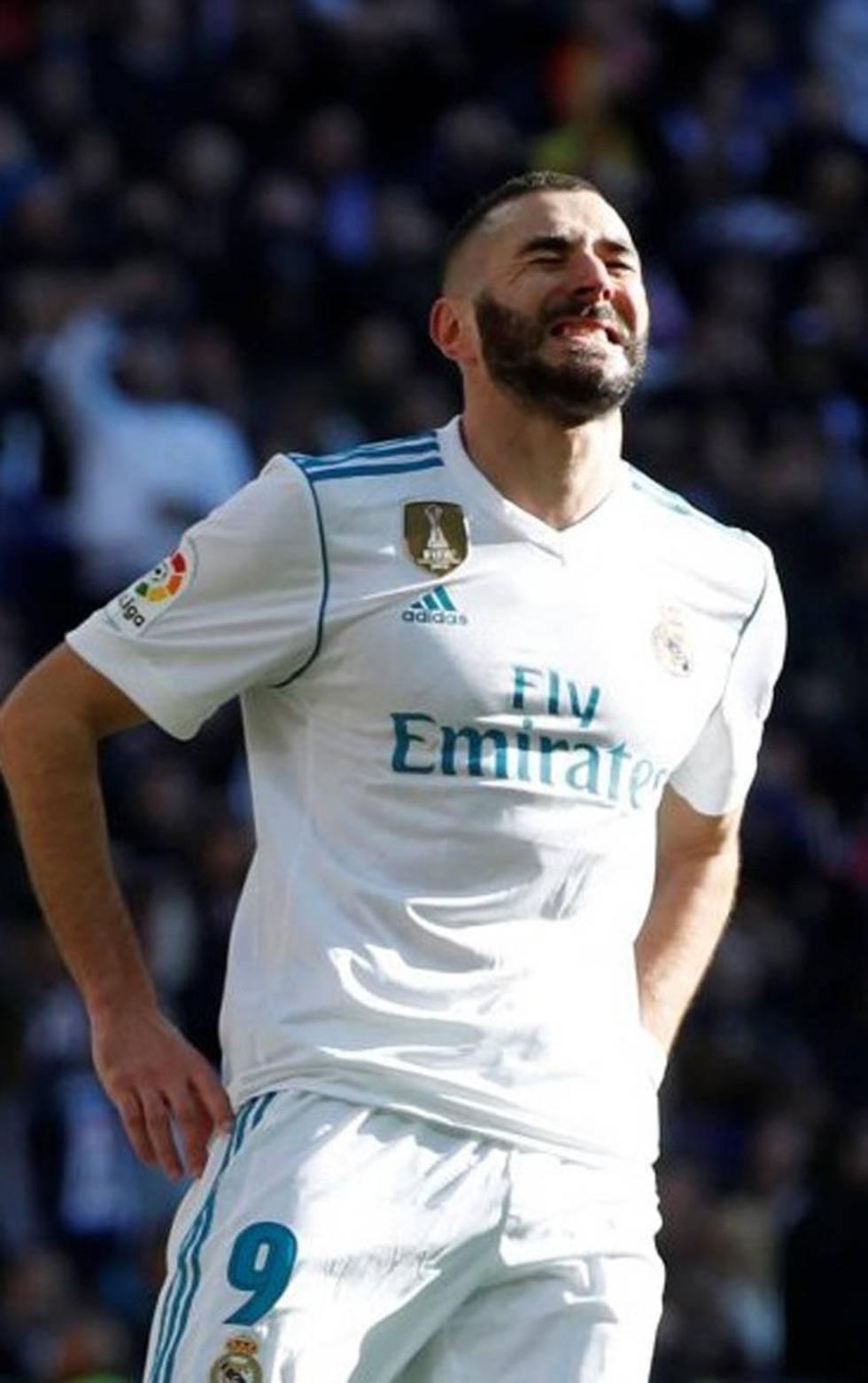 Karim Benzema regresa de las vacaciones lesionado