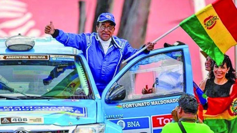 El paceño Fortunato Maldonado.