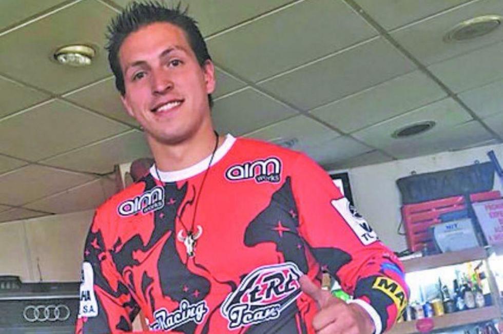 Horacio Toro tenía previsto participar en motos.