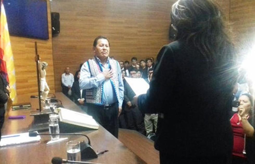 El potosino Petronilo Flores juró ayer como presidente del TCP