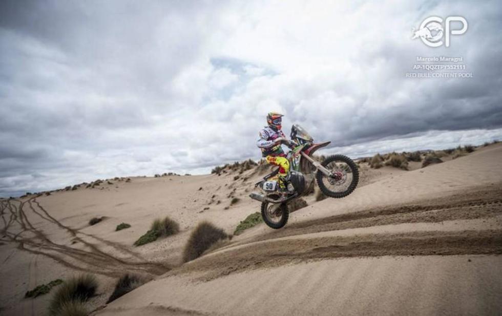 Daniel Nosiglia está entre los mejores del Dakar
