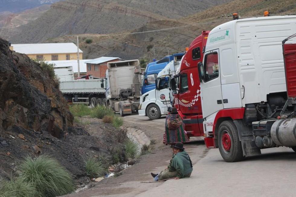 La Fiscalía imputa a cuatro transportistas por bloqueo de vías
