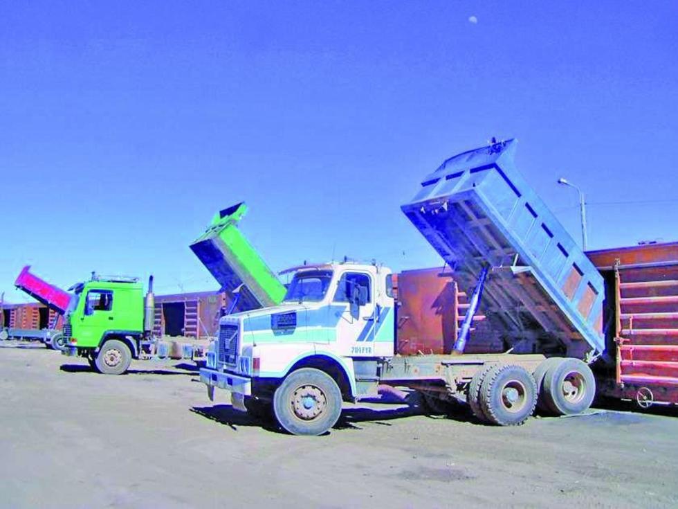 Evitarán la salida de las cargas mineralizadas rumbo a puertos de Chile.