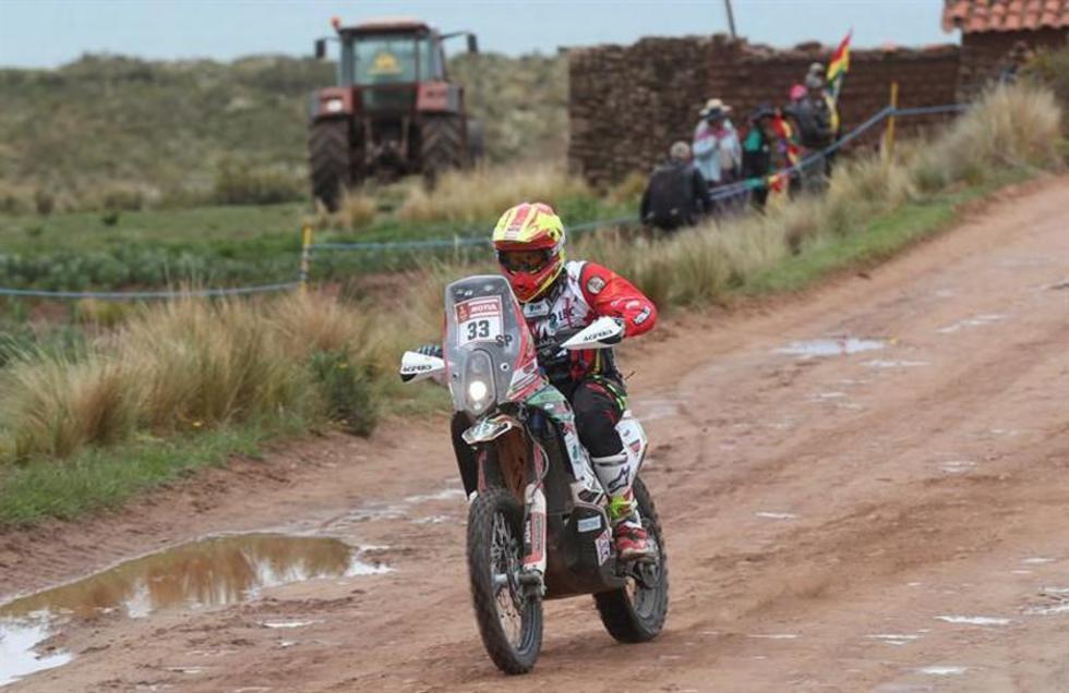El corredor boliviano conoce muy el camino por territorio argentino.