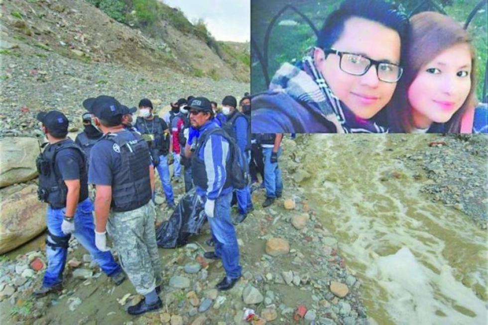 Encuentran los cuerpos de Carla y Jesús en río de La Paz