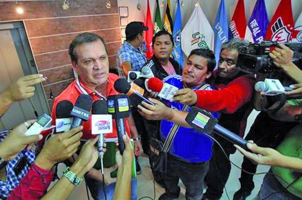 Si Real Potosí no paga sus deudas el torneo de fútbol no arrancará