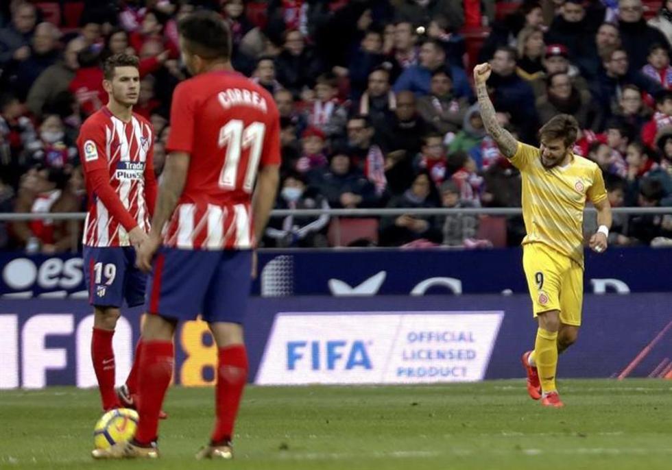 Atlético de Madrid empata ante Girona y entrega la Liga