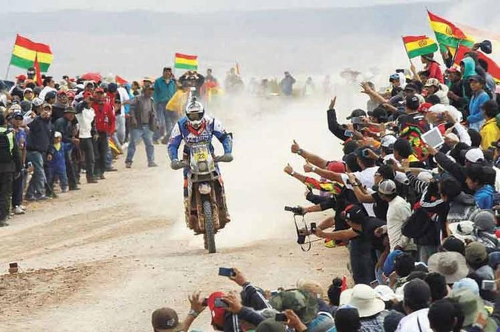 Piden que el rali Dakar se siga corriendo por tierra boliviana