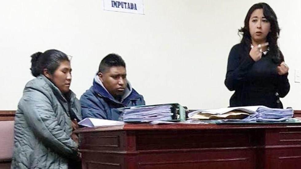 La abogada de los imputados, Mónica Irusta, negó  la participación de sus defendidos y anunció que apelará la detención