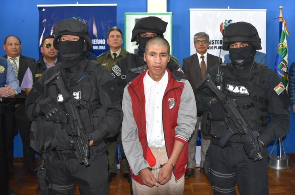 El principal acusado por la tortura y eliminación física de la pareja fue presentado ayer por el Gobierno.