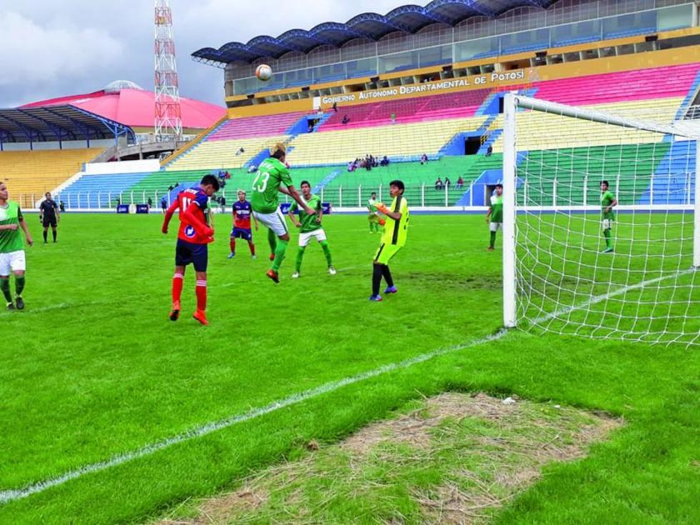 La selección de varones de Potosí venció 4-3 a su rival.