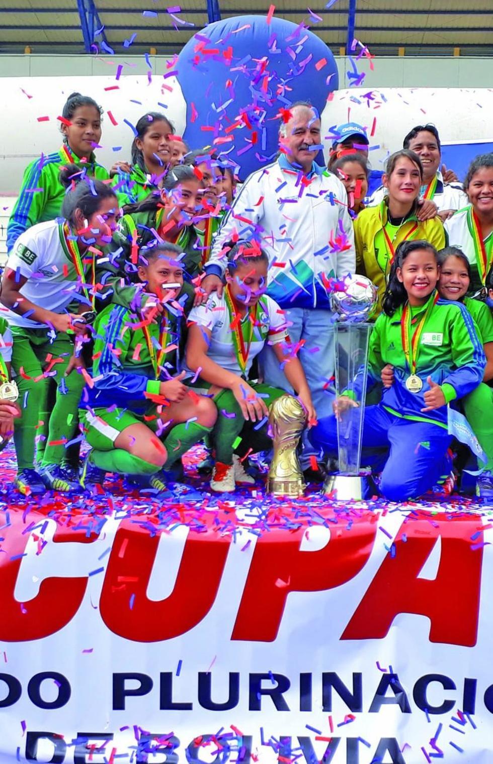 Beni se corona campeón de la Copa Bolivia en la categoría damas