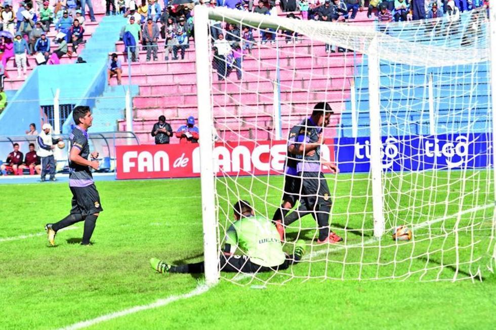 Real Potosí demostró su poderío futbolístico