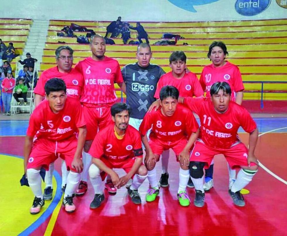 El equipo 1 de Abril ganó en semifinales a JOC.