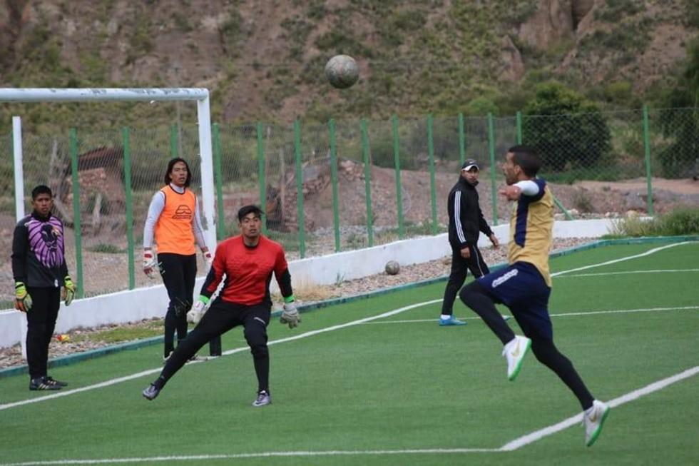 Los jugadores lilas entrenarán hoy en la cancha de la localidad de Don Diego.