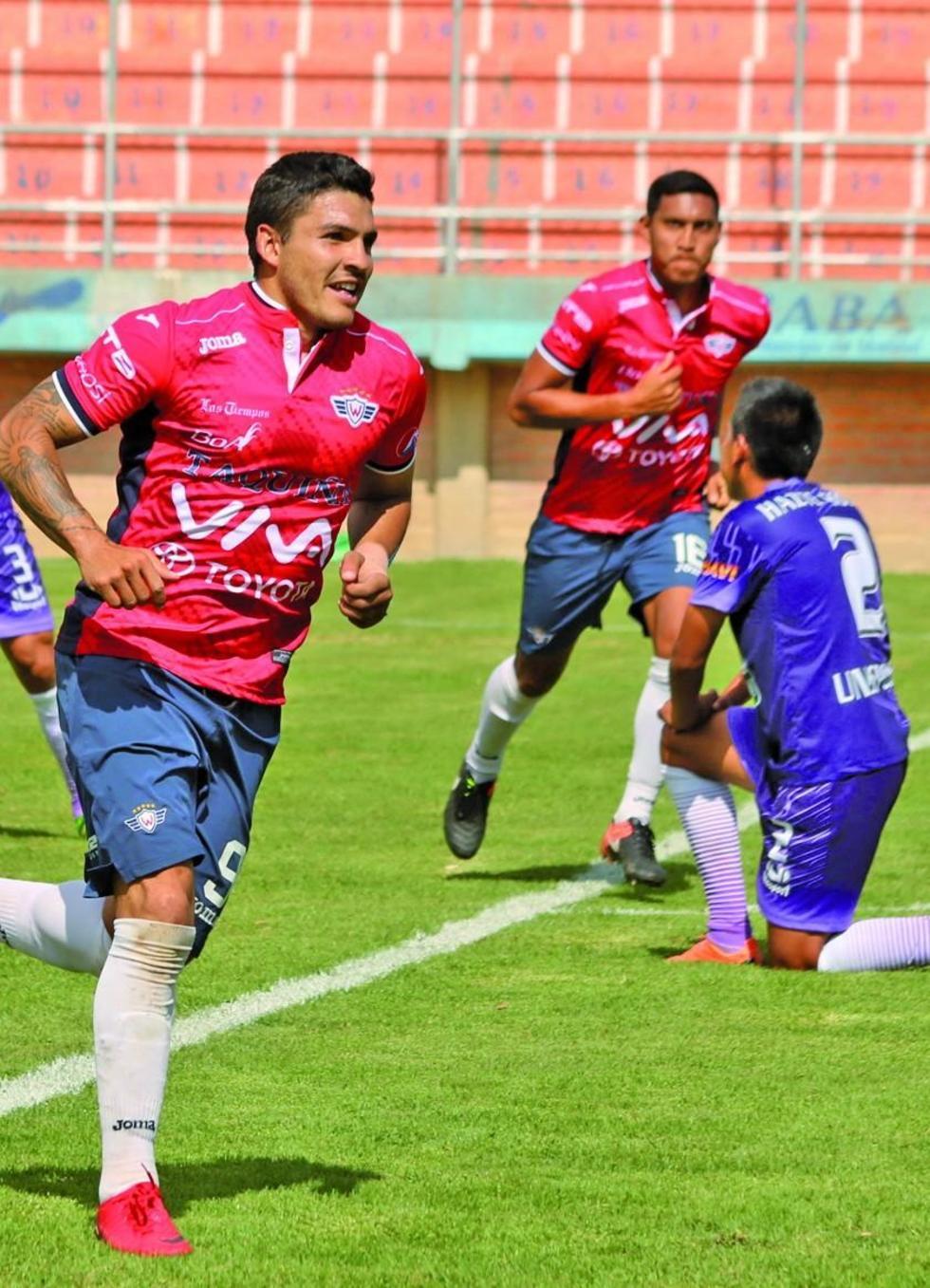 Real Potosí es goleado por Wilstermann en Sacaba