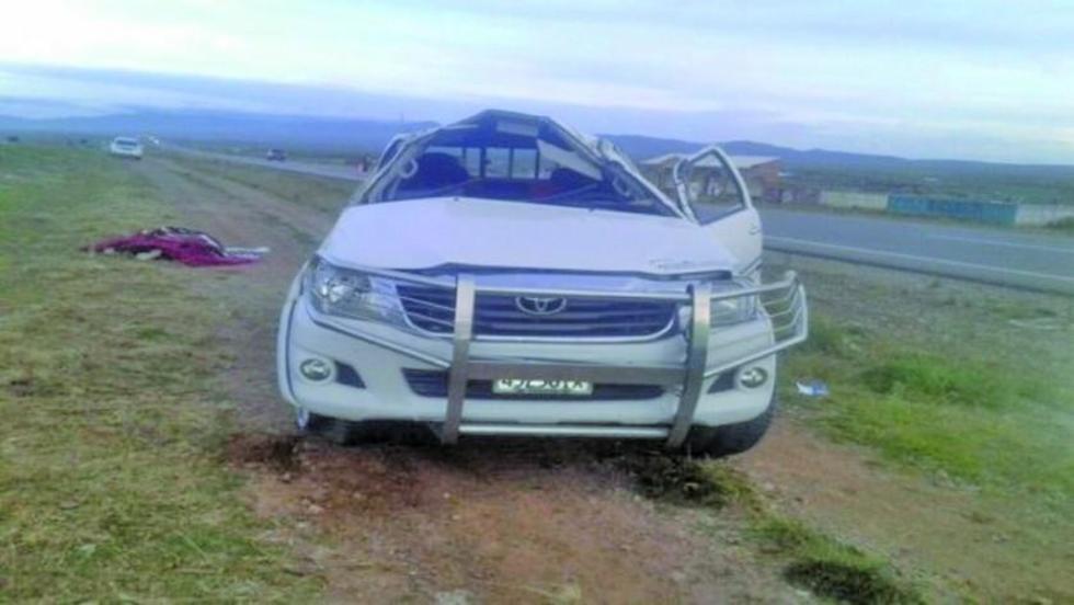 La persona fallecida fue identificada como Yoseli Loayza Roncal.