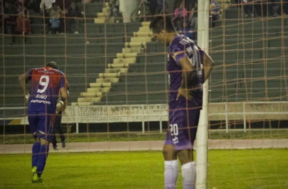 Real Potosí no hace pie y pierde los puntos con Universitario