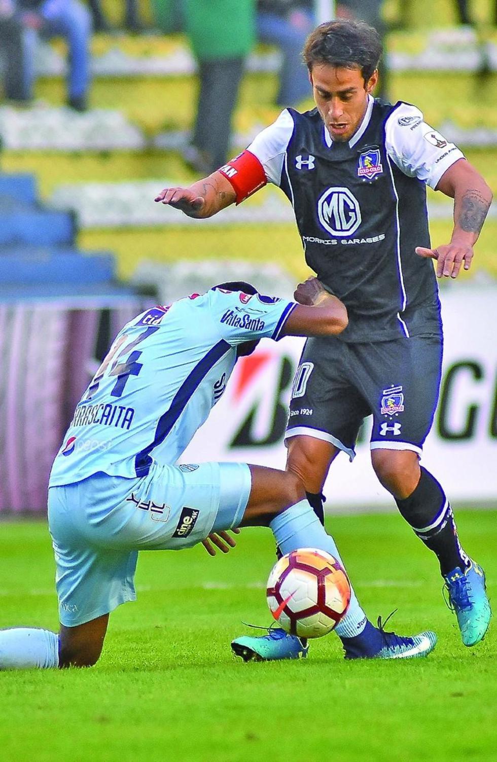 Bolívar es parado por Colo Colo pese a jugar de dueño de casa
