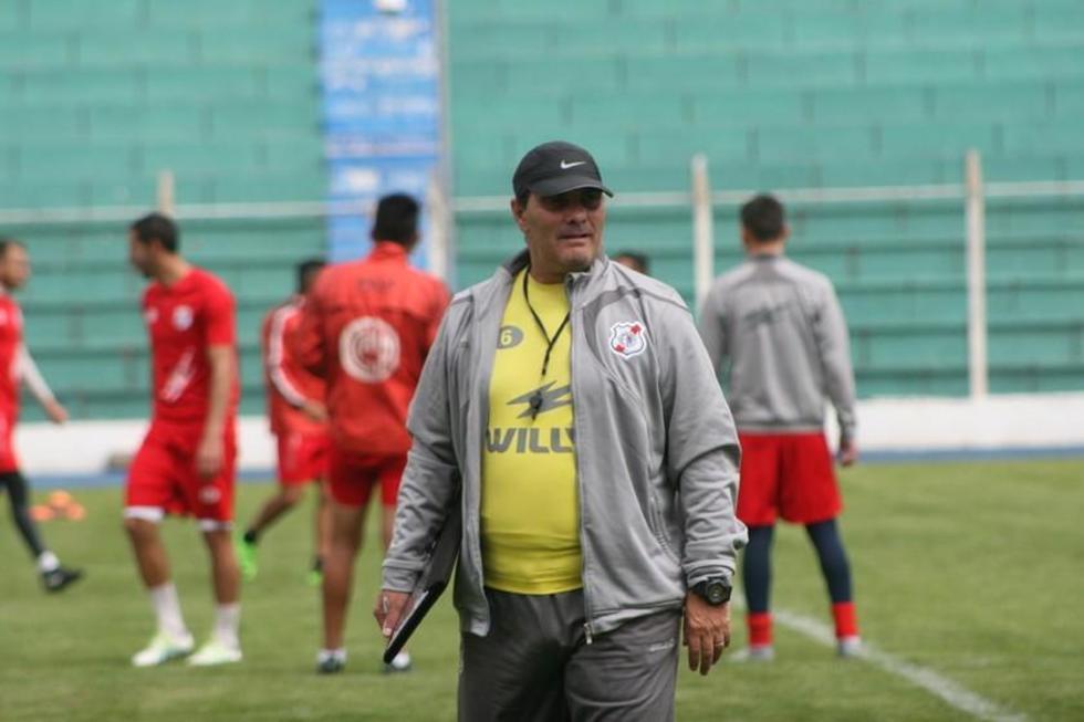 El entrenador Edgardo Malvestiti.