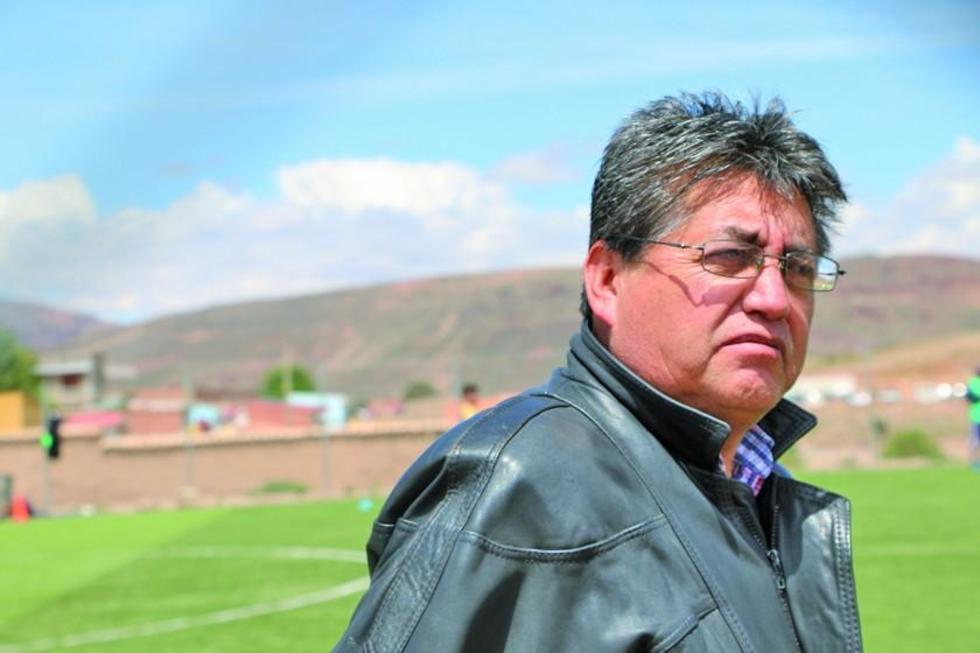 El presidente del equipo potosino, Wilson Gutiérrez.