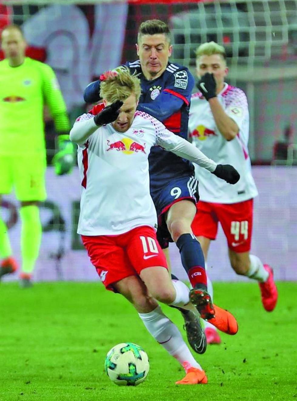 Leipzig sorprende a Bayern Múnich