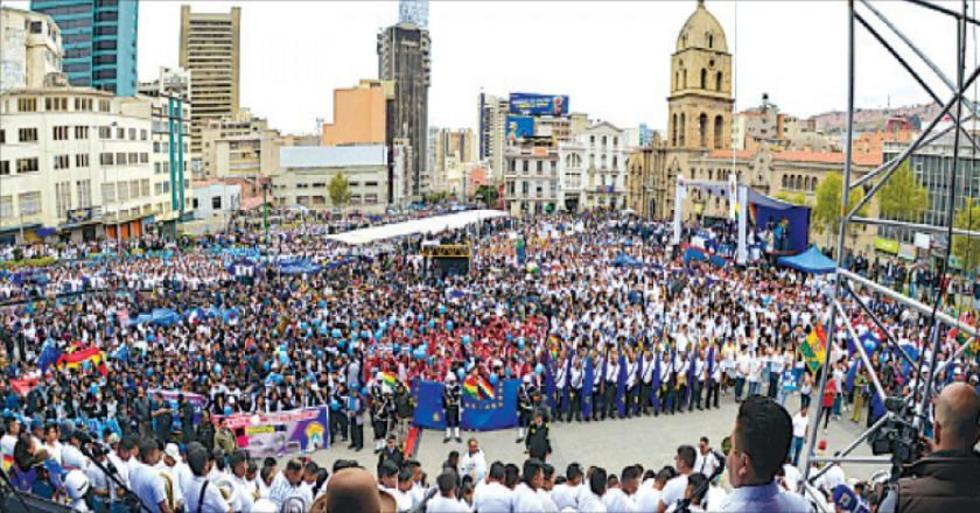Los bolivianos acompañaron en todo el país la fase de los alegatos orales desarrollados ayer en La Haya.