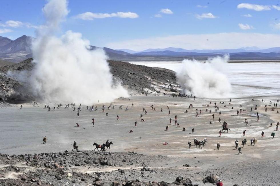 Critican a Chile por negar la batalla de Canchas Blancas