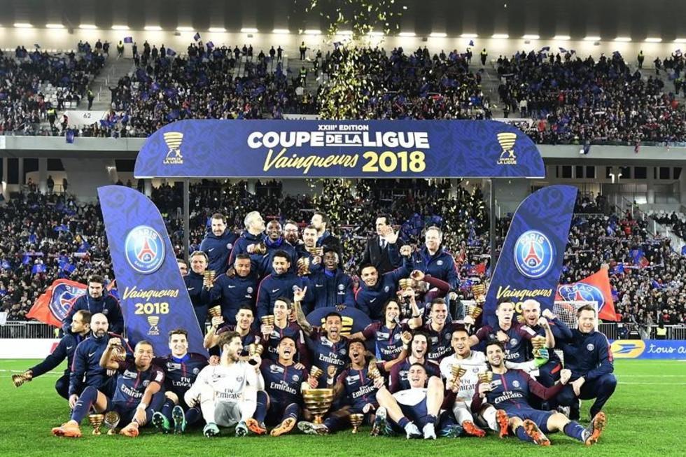 PSG gana Copa de Liga por quinta vez seguida