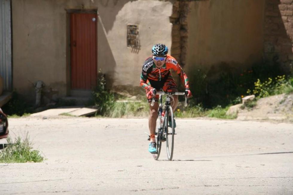 El campeón del nacional, Javier Arando Ramos, en plena competencia.