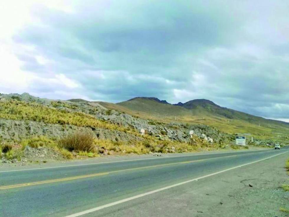 Esta es la zona que la Gobernación de Potosí requiere para ampliar el aeropuerto potosino.