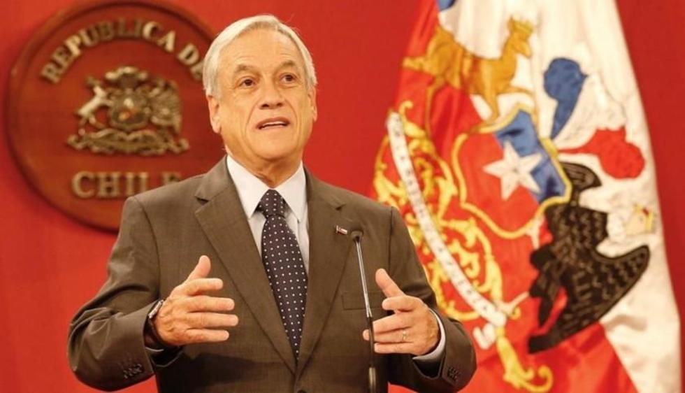 El primer mandatario del vecino país, Sebastian Piñera.