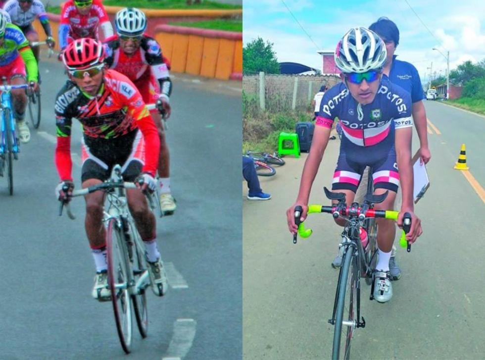 Potosinos consiguen oro y plata en prueba de ciclismo