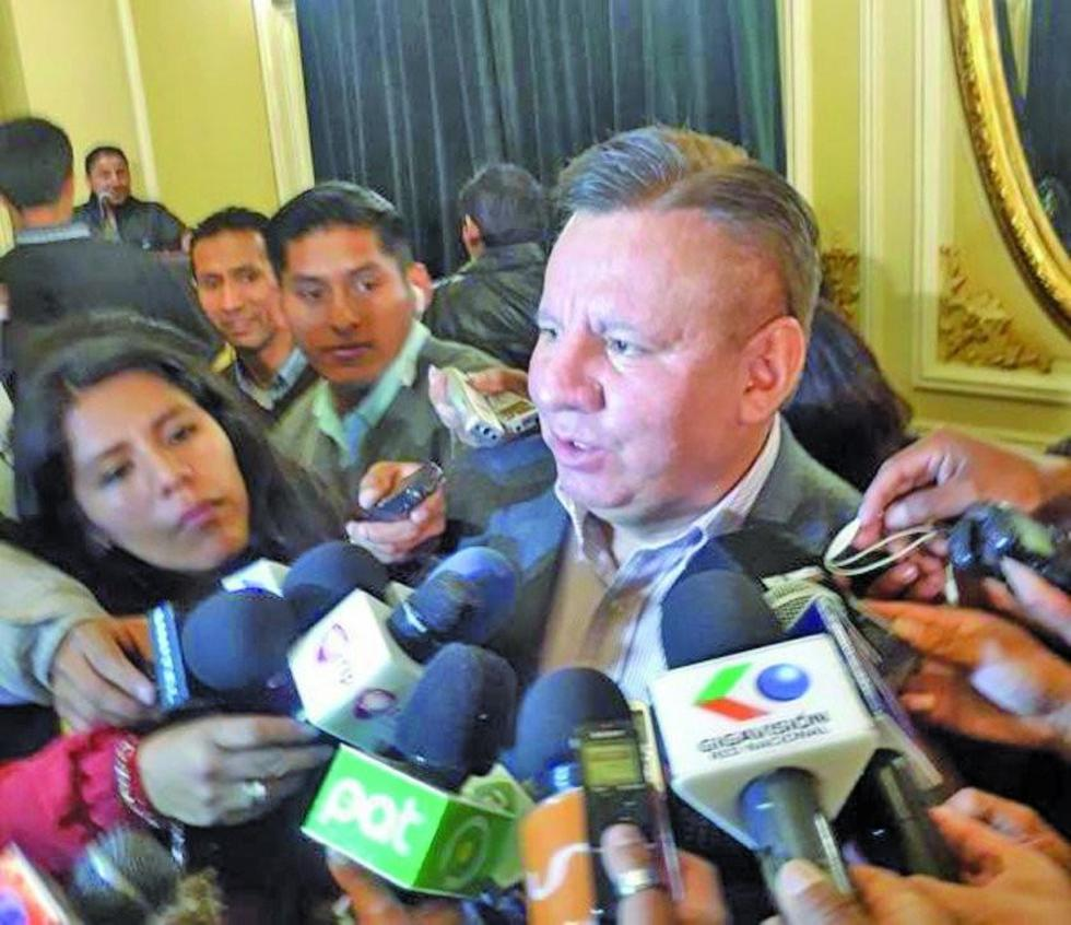 El viceministro de Coordinación con los Movimientos Sociales, Arturo Alessandri.