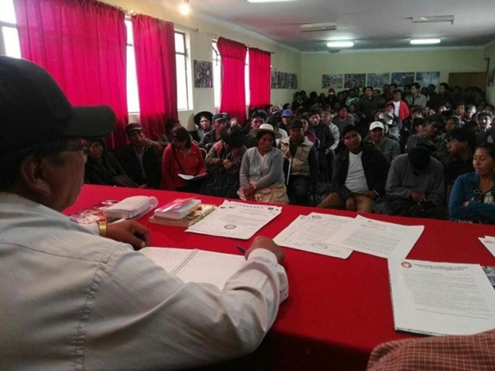 Una anterior reunión de consejo consultivo de la entidad cívica.