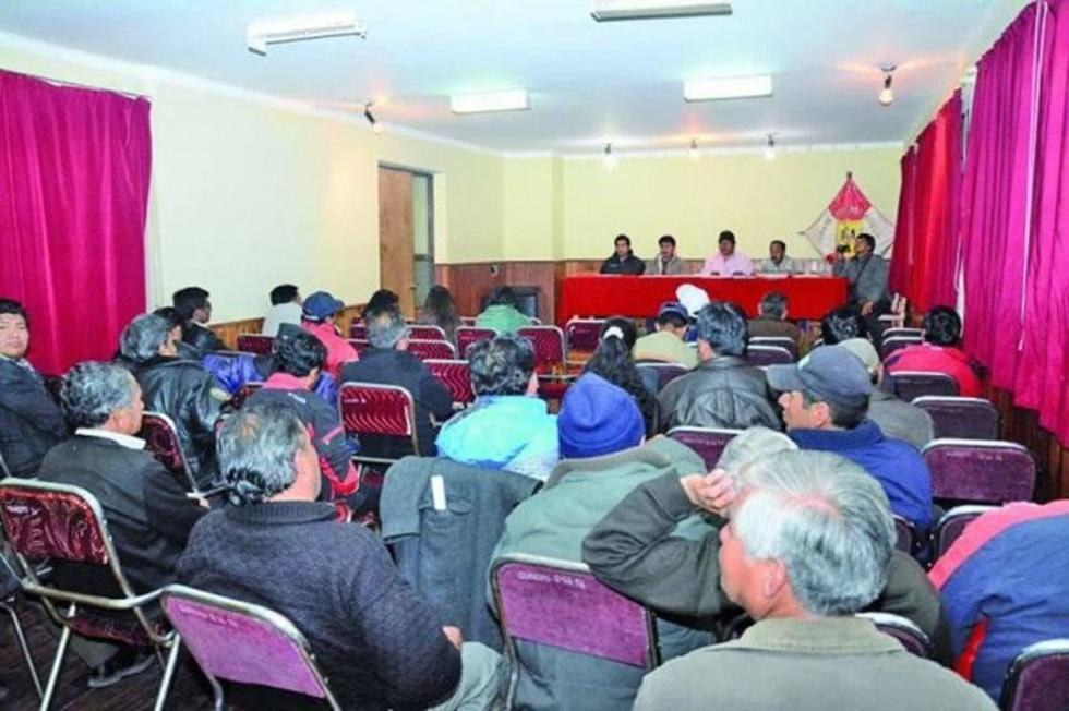 Los delegados definirán si se llama a elección en el ente cívico