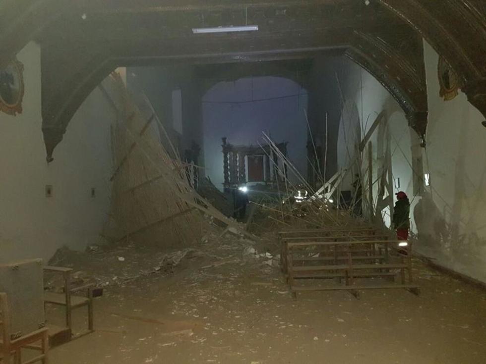 Recién hoy los técnicos entrarán al templo para verificar los daños.