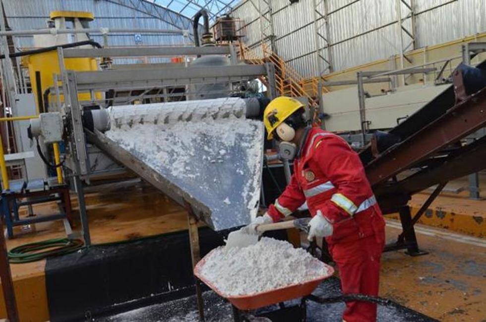 Empresa china montará la planta industrial de carbonato de litio