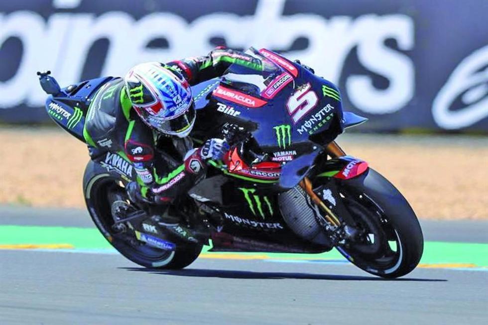 Johann Zarco es el más rápido en los entrenamientos del GP de Francia de MotoGP
