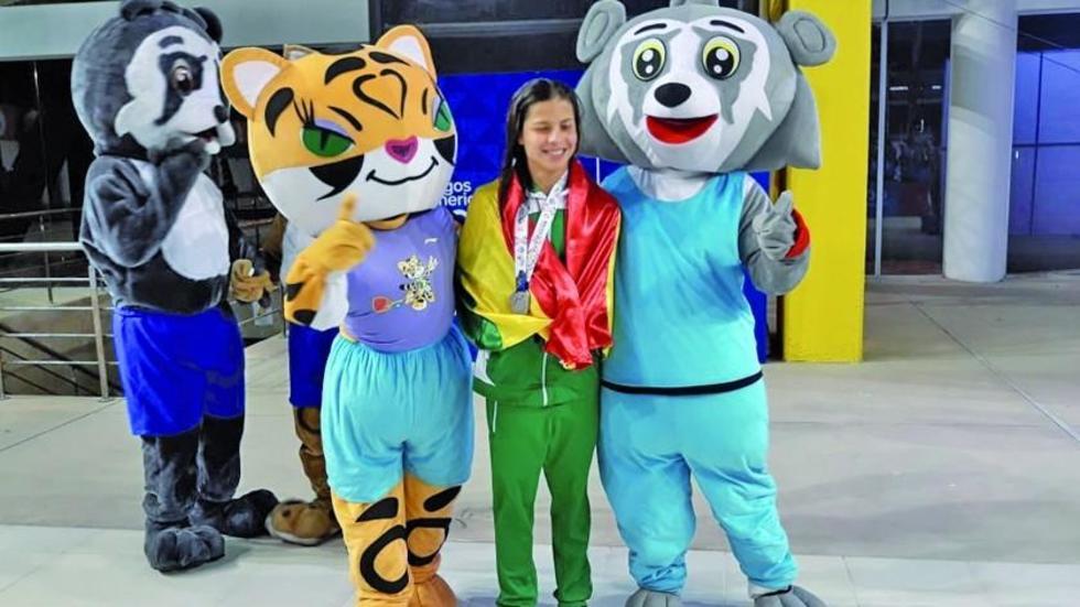 Tórrez logra la medalla de plata