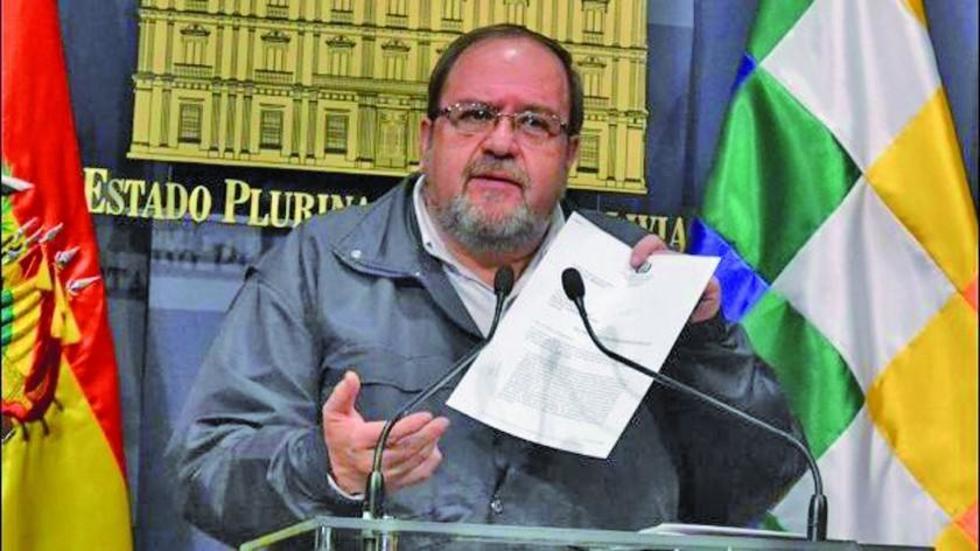 El titular del ministerio de Educación, Roberto Aguilar.